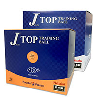 Nittaku J-Top 40+ Training Ball Bulk Pack