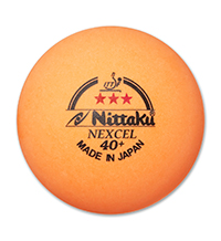 Nittaku 3-Star Nexcel 40+ Orange