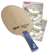 PRO SPECIAL: Tibhar Stratus Power Wood with Evolution FX-S