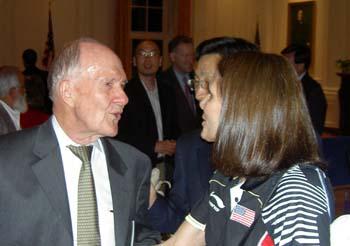Brent Scowcroft & Judy Hoarfrost