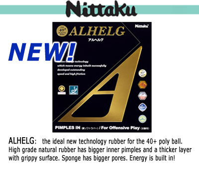 New Nittaku Poly Ball SHA 40+