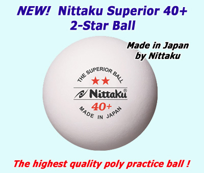 Nittaku 2-Star Superior Ball