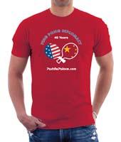 Ping Pong Diplomacy T-shirt