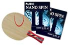 Shakehand Pro Special: Juic Stellan Bengtsson Alpha with Nano Spin II rubber